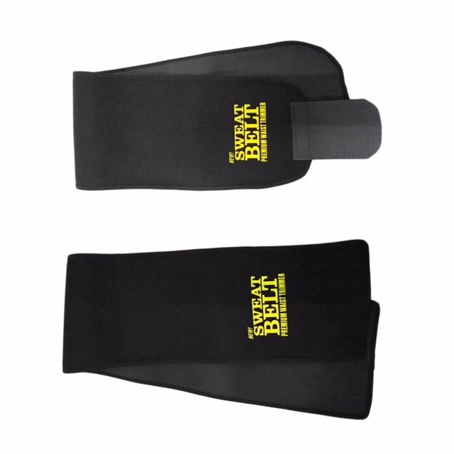 Adjustable Waist Tummy Trimmer Slimming Sweat Belt Fat Body Shaper Wrap Band Weight Loss Burn Exercise Men Women Belly Dropship 2