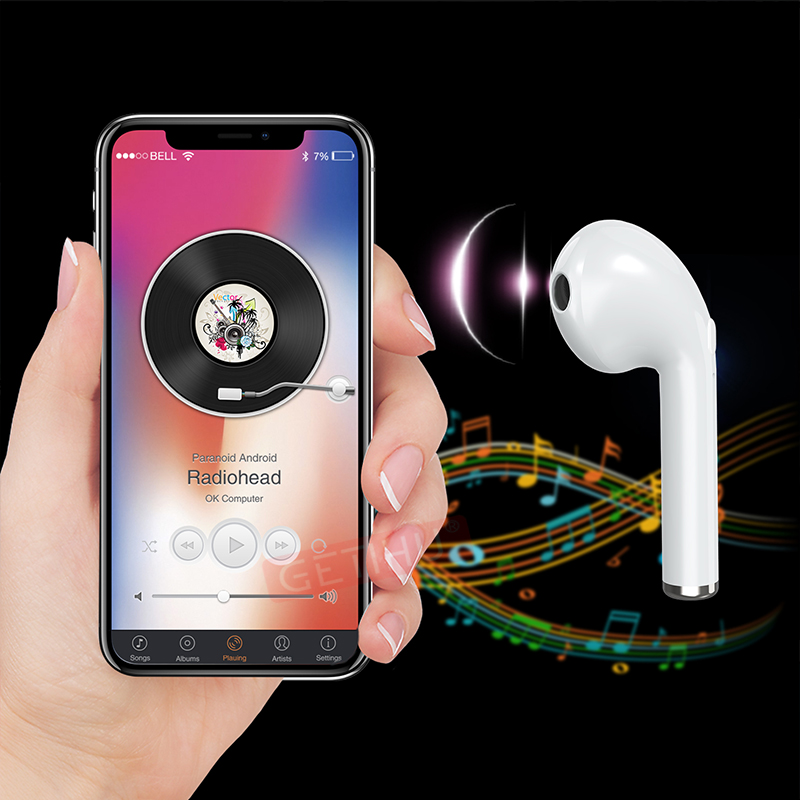Mini Wireless Earphone Bluetooth Headphones Phone Sport Headset in Ear Buds Earphones Headphone Earpiece For iPhone 6 7 8 stereo (8)