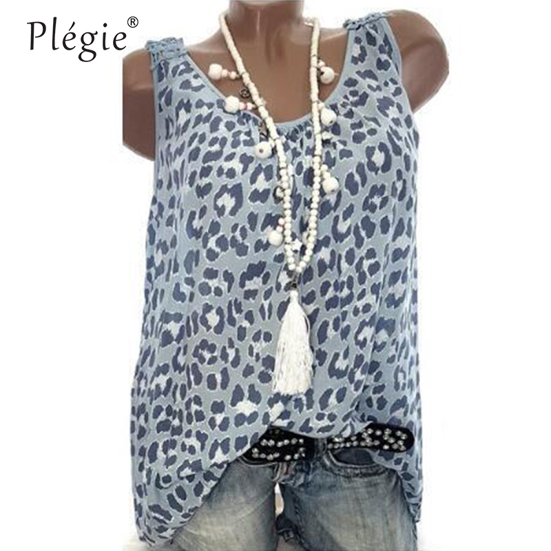 Plegie 5XL Plus Size Women Tops And Blouses 2018 Summer New Women Back Hollow Out Lace Patchwork Print Top Shirt Blouse 1