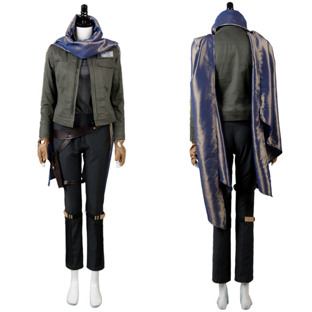 Rogue One: A Star Wars Story cosplay Jyn Erso costume Stardust Outfit Cosplay Costume for party hallween carnival Full Sets