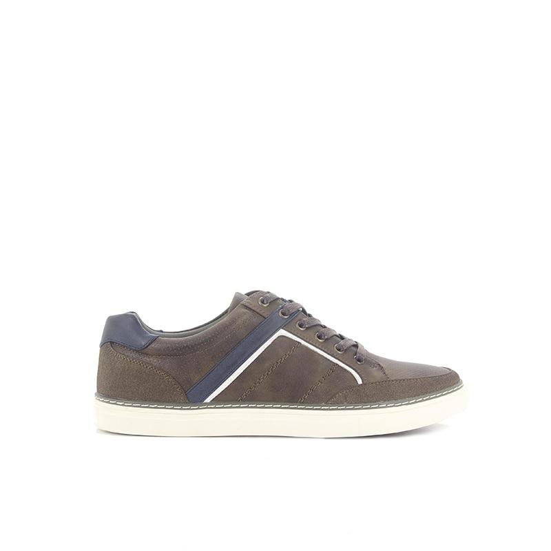 Homens Casual Caminhada Dark Respirável Sapatilhas Nova Mens 39 De Das Dos 45 Up Plus Couro Size 2019 Chegada Brown Sapatos Lace Formadores xY01Rqxw