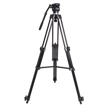 WEIFENG 717 1.8m Fluid head tripod Video camcorder professional tripod 6kg bear weight with Fluid Bowl Pan Head Carry Bag