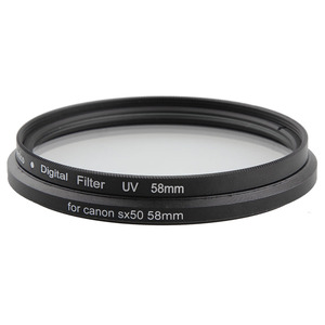 Image 5 - المعادن حربة إلى 58 مللي متر موضوع الأشعة فوق البنفسجية مرشح CPL جبل كاميرا محول عدسات لكاميرا كانون Powershot SX520 SX40 SX50 SX60 SX70 HS