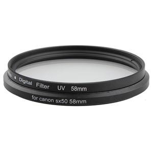 Image 5 - Metalen Bajonet 58 Mm Draad Uv Cpl Filter Mount Camera Lens Adapter Ring Voor Canon Powershot SX520 SX40 SX50 SX60 SX70 Hs