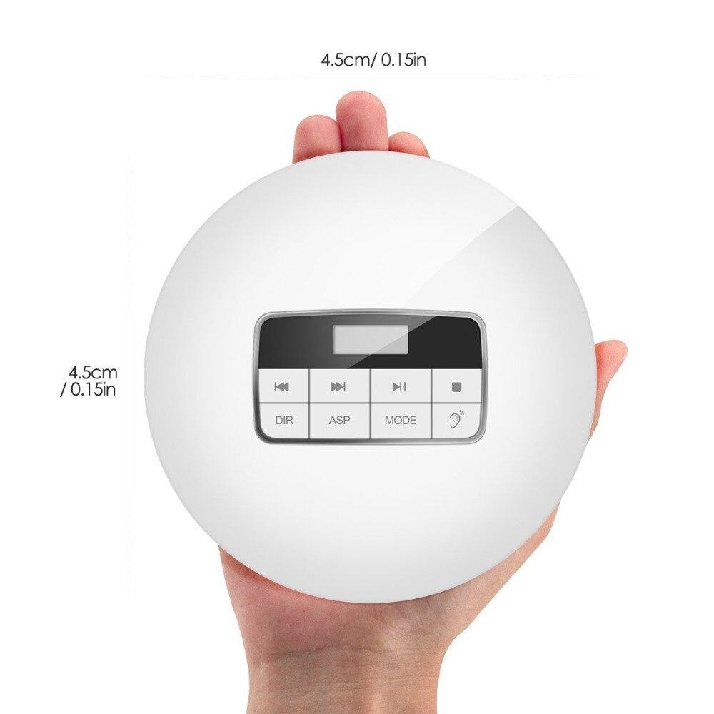 HOTT Portable CD Player LED Display CD Walkman Play Disk of CD R/CD RW/MP3 Sound Effects Include Flat/BBS/Pop/Jazz/Rock/classic