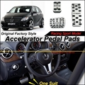 Car Accelerator Pedal Pad / Cover of Factory Sport Racing Design For Mercedes Benz B Class MB W246 AT Foot Pedal