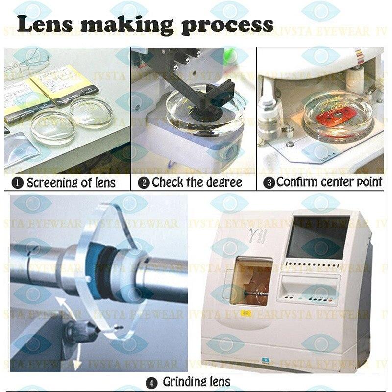 d27da93a4a304 IVSTA 1.67 Personalizado Revestimento Lense Verde Grau astigma Anti Fadiga  anti radiação Homens Mulheres Lentes de Prescrição para Miopia em  Acessórios de ...