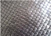 Aluminium mesh brass mesh 4mm in black ,gold ,silver color wholesale free shipping