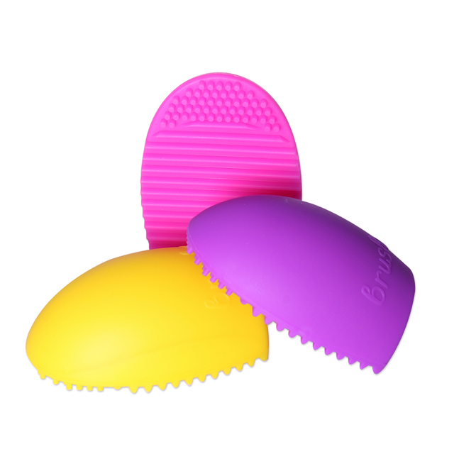 O.TWO.O Silicone Makeup Brush Cleaning Washing Tools Cosmetics Brushes Scrubber Board Make Up Washing Brush Cleaner Tool