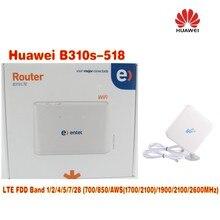 (+4g 35dbi SMA antenna)UNLOCKED Huawei B310s-518 LTE 4G WiFi Router Broadband FDD Band 1 2 AWS 5 7 28