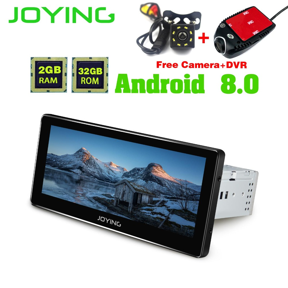 8.8Joying GPS Navigation 2GB+32GB Android Universal Car Radio Audio Stereo head Unit Multimedia payer Support OBD Cam Dash Wifi