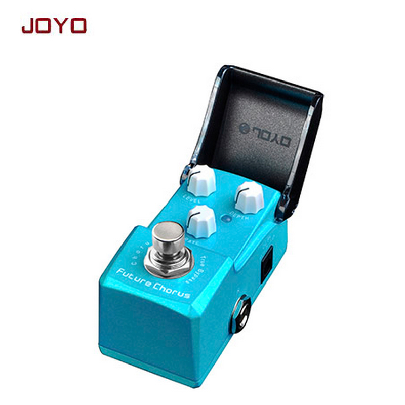 JOYO JF-316 Future chorus Mini Smart guitar Effect Pedal every sound you dial in stays fully usable ture bypass free shipping joyo jf 312 ironman pipebomb compressor guitar effect pedal control dynamic output fatten your sound ture bypass free shipping