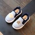 Children Shoes Девочки Растет Кроссовки 2017 Весна Плед Звезды Случайные Мальчики Shoes Мягкие Детские Shoes Chaussure Enfant Размер 23-30