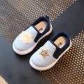 Children Shoes Girls Growing Sneakers 2017 Spring Plaid Stars Casual Boys Shoes Soft Kids Shoes Chaussure Enfant Size 23-30