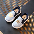 Niños shoes niñas cada vez mayor zapatillas de deporte 2017 de primavera estrellas a cuadros chicos casual shoes soft kids shoes chaussure enfant tamaño 23-30