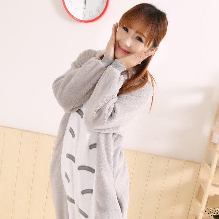New Style Gray Funny Loose Fleece Onesie Japan Anime Galesaur Cosplay Costume Japan Animal Pajama Pyjamas Party Dress In Stock