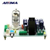 Aiyima AC12V 6N3 ламповый буфер желчи Предварительный усилитель Совет для фильтрации Усилители домашние аудио сигнала DIY комплекты