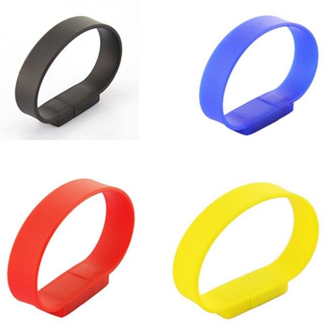 USB Flash Drive 128GB Pen Drive Pendrive Bracelet Wristband Style 8GB 16GB 32GB 64GB 2.0 Memory Stick