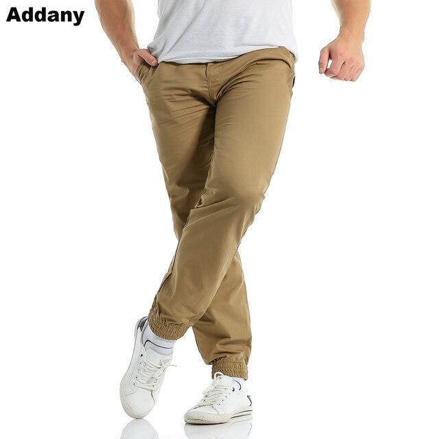 algodón moda otoño pantalones caqui Fit Joggers pantalones hombres primavera hombres Slim hombres Harem 2018 Casual HZqRScn