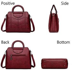 Image 3 - Alta capacidade bolsa Para As Mulheres Bolsas De Marca de Luxo mulheres do Desenhador saco por cima do ombro Sacos Crossbody Sac a Principal Das Senhoras tote nova