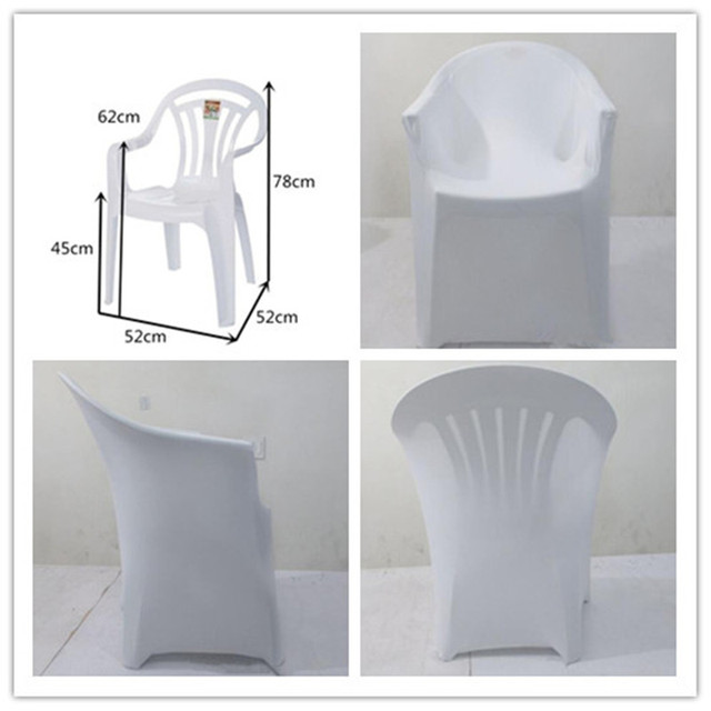 Free Shipping Whole 30pcs Universal Arm Chair Cover Banquet With For Plastic Outdoor