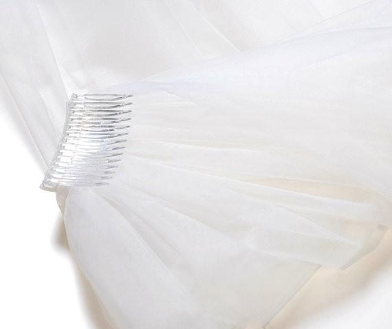 удлиненная фата catherdraw длина 2.6 м 2 слоя свадебная фата свадебные аксессуары с расческой lbn002