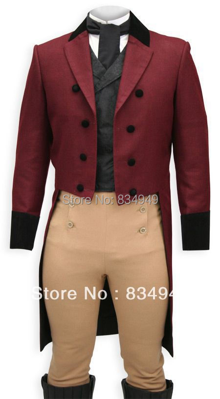 Popular Red Tuxedo Tailcoat-Buy Cheap Red Tuxedo Tailcoat lots ...