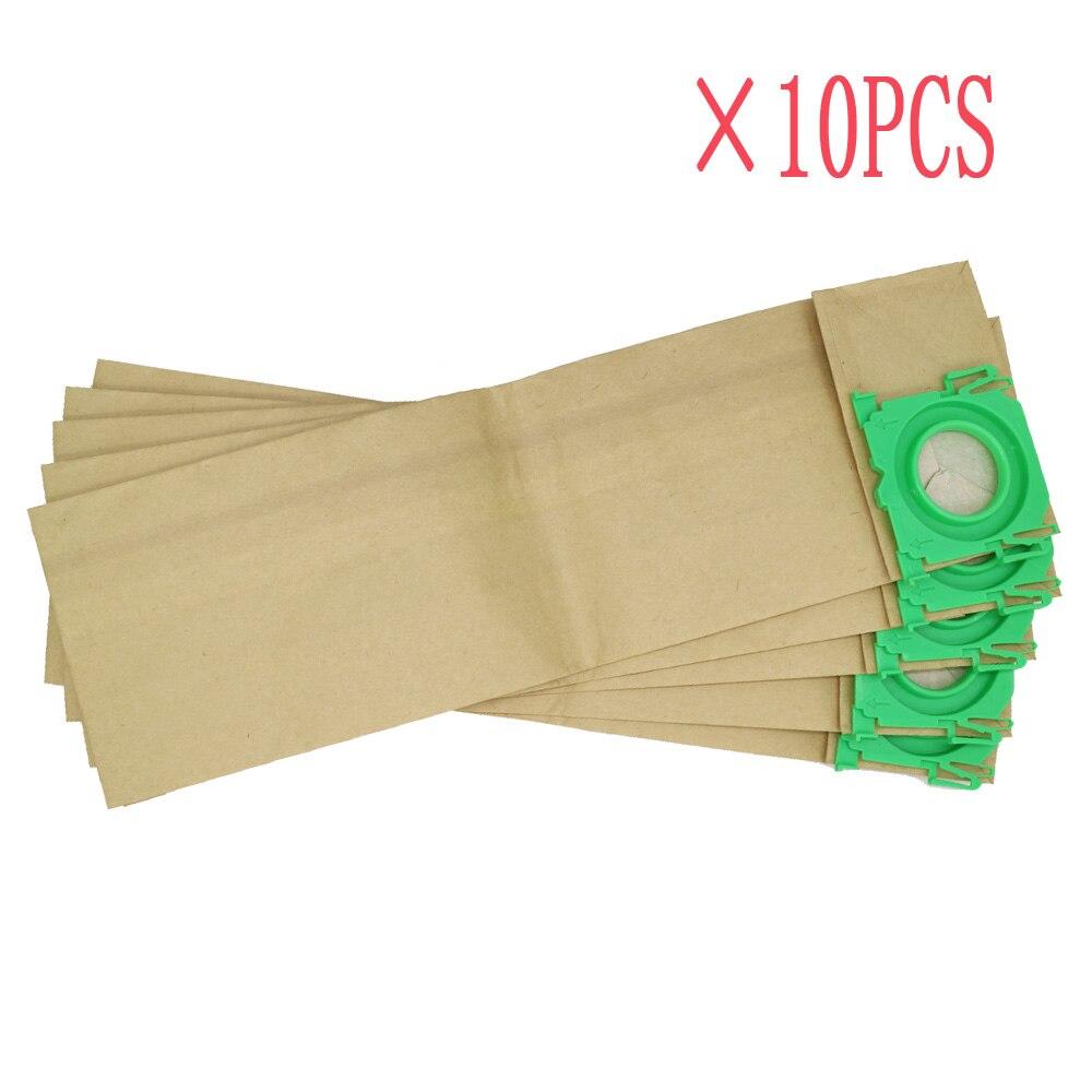 10pcs Free shipping Clean vacuum cleaner bag fits for BORK V701 V702 3 Ply paper dust bags bork v702