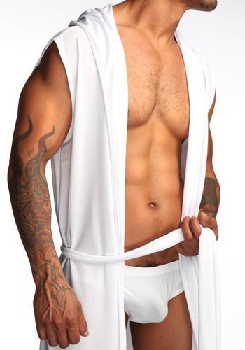 Бесплатная доставка мужчины сексуальная одежда черный японский халат мужчины халат мужские короткие халаты