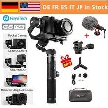 FeiyuTech Feiyu G6 плюс 3-оси ручной Gimbal стабилизатор voor беззеркальных Камера карман Камера GoPro смартфон грузоподъемность 800g