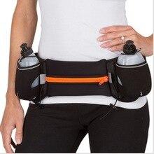 Nueva Correr Cinturones Ejercicio Escalada Camping Ciclismo Corredor Packs Bolso de La Cintura Botella de Agua Bolso de La Correa para Los Hombres y Mujeres