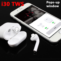 i30 TWS Air Earbuds Pods Bluetooth Headset XY Wireless Earphone PK I7S I9S I20 W1 Chip For iPhone Earphones all Phone