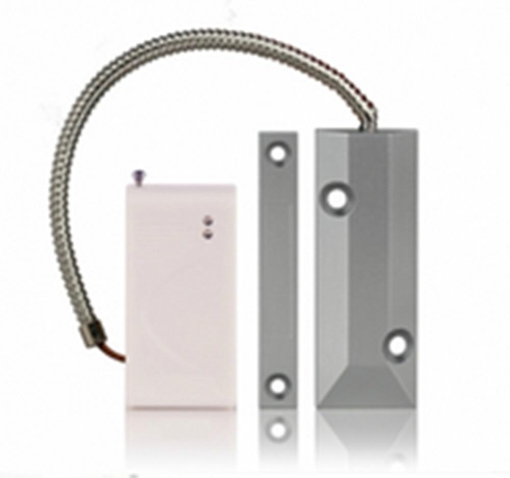 Wireless Magnetic Door Contact For GSM Alarm System Door Alarm Sensor forecum 433mhz wireless magnetic door window sensor alarm detector for rolling door and roller shutter home burglar alarm system