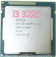 Intel Core i3-3225 i3 3225 I3 3225 procesor grafika Intel HD 4000 (pamięć podręczna 3M, 3.30 GHz) LGA1155 procesor pulpitu darmowa wysyłka