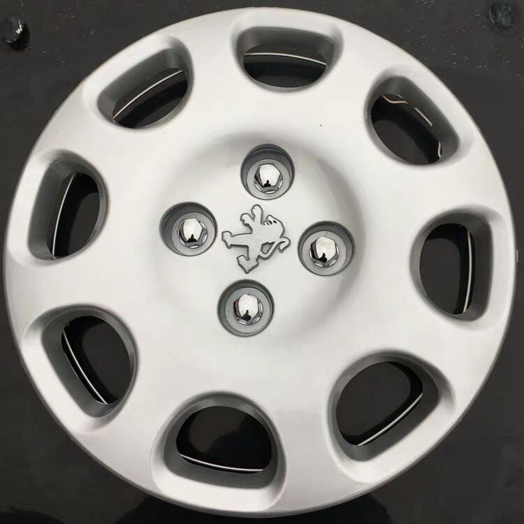 ZBH-LGG-BZ Wheel Hub Cover, Tire Trim Cover, Screw Cover For Peugeot 206 207
