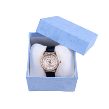 Elegant Jewelry Case Packaging Carton Paper Box Container Storage Box for Watch Gift Pillow Inner Inside