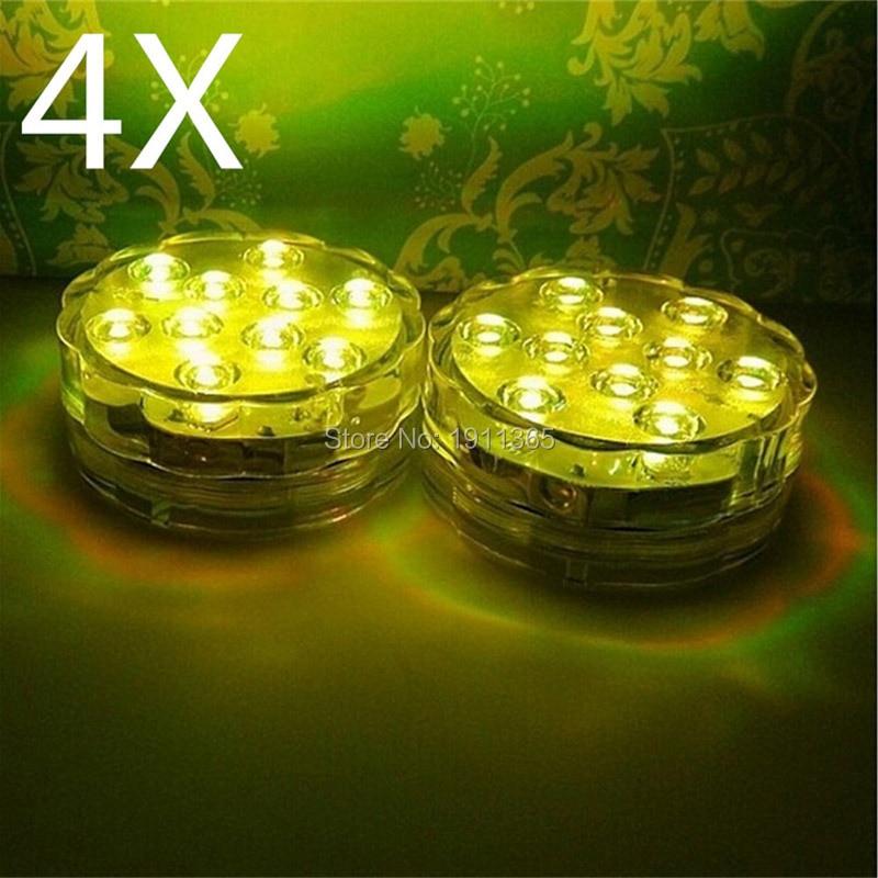 4x kawalan jauh tenggelam membawa bunga lampu perkahwinan parti - Pencahayaan perayaan - Foto 3