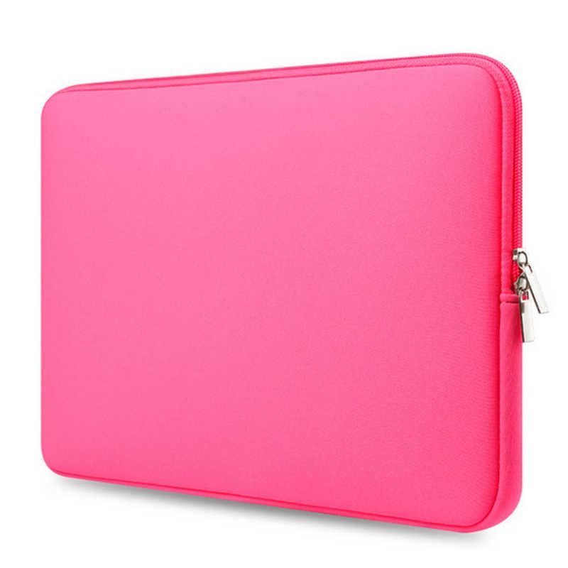 سستة الكمبيوتر كم جراب للماك بوك محمول الهواء برو الشبكية 11 12 13 14 15 13.3 15.4 15.6 بوصة ل شاومي لينوفو دفتر حقيبة