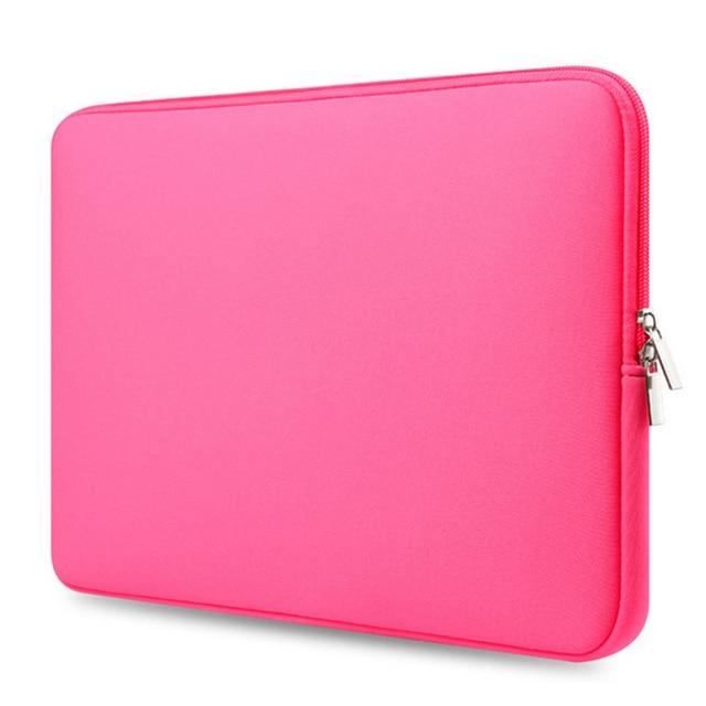 ジッパーコンピュータ Macbook の空気プロ網膜 11 12 13 14 15 13.3 15.4 15.6 インチ xiaomi レノボノートブックバッグ