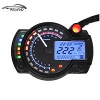 2016 15000 rpm moderna RX2N KOSO similar LCD digital del velocímetro del odómetro de La Motocicleta ajustable MAX 299 KM/H