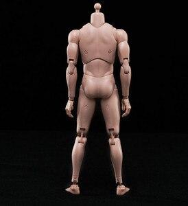 """Image 3 - جديد 1/6 عمل الشكل ذكر الجسم القوقاز الجلد MX02 A في الأوراق المالية لمدة 12 """"ألعاب الدمى عمل الشكل الجندي"""