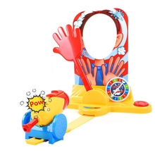 Cannon Empty Face Machine Punishment Game Funny Children Cream Face Machine Tidy Party Toy Novelty Funny Game Punishment Toy 1 set billiards toy novelty funny board game mini billiards children game toy kids toy