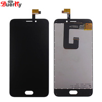 BKparts 100 Tested 5pcs For UMI Plus E Full LCD Display Touch Screen Assembly Glass Replacement
