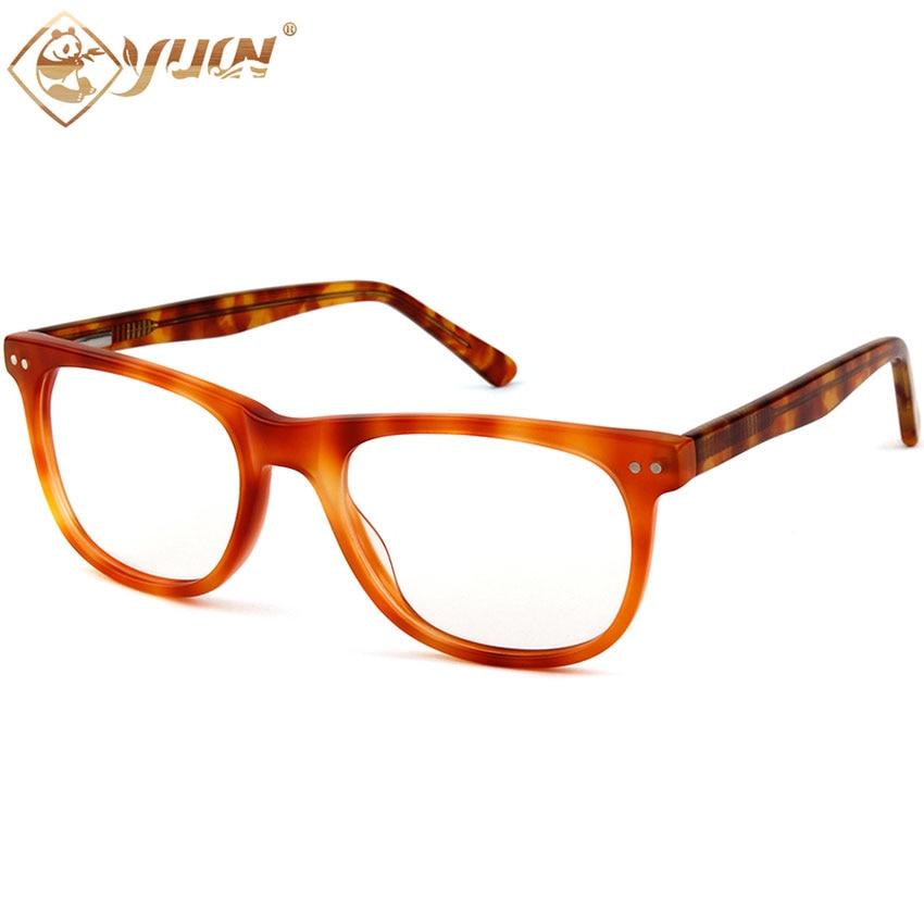 Nueva llegada transparente gafas de acetato de moda marco de cristal ...