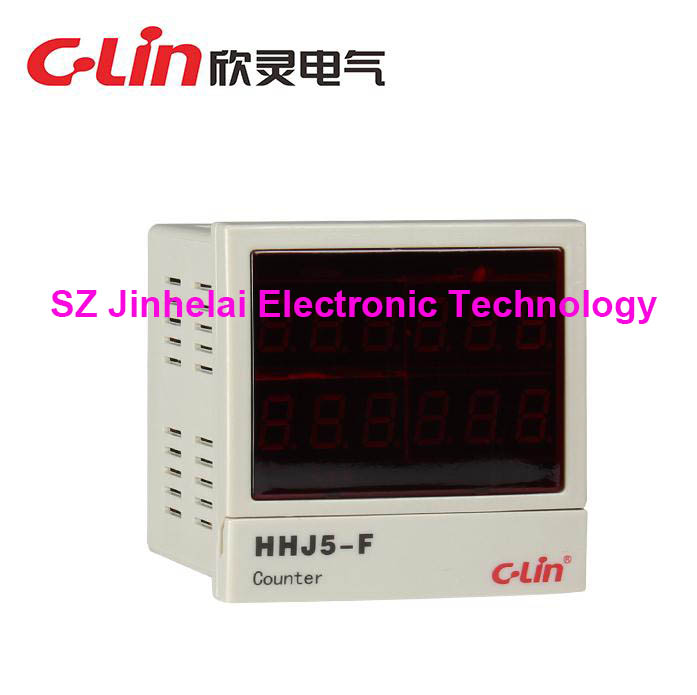 C-Lin HHJ5-F New and original Count relay AC220V Packaging machine special d lin d147819 f