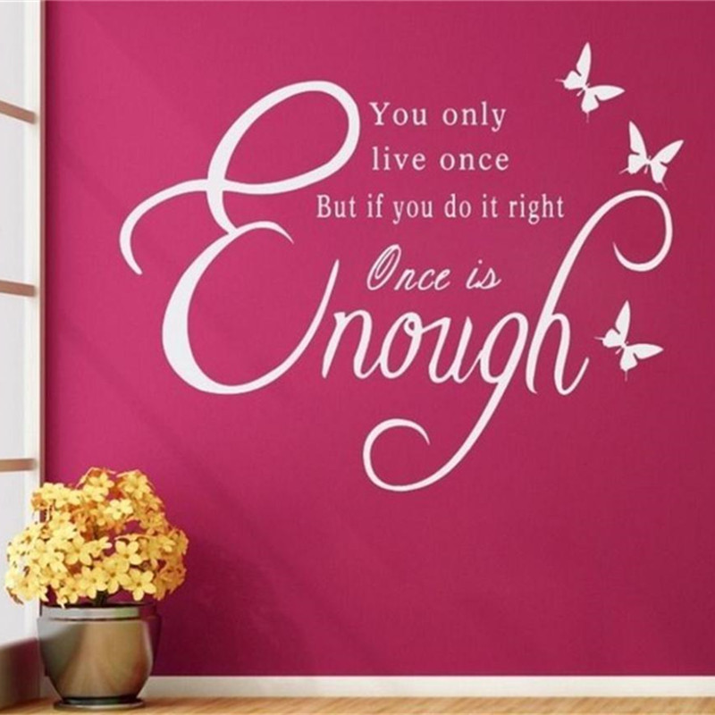 Famous Wall Decal Quotes For Living Room Gift - Living Room Designs ...
