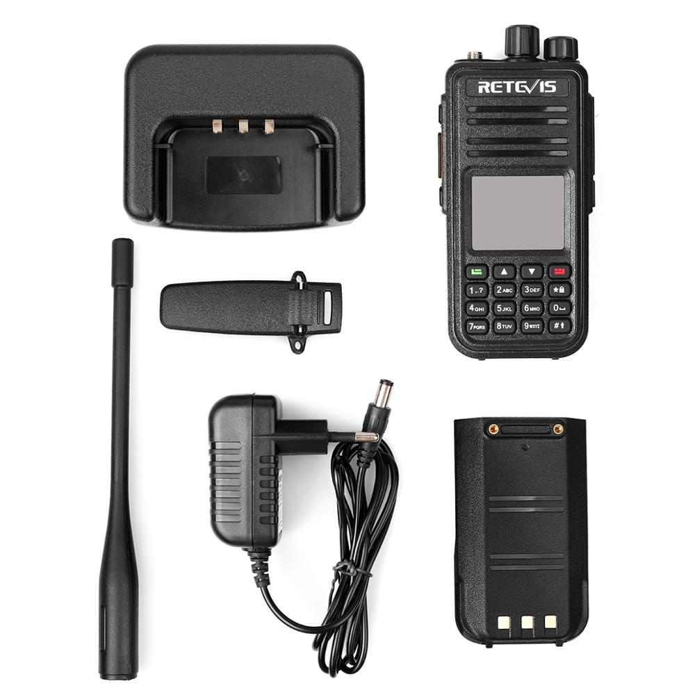 Image 5 - RETEVIS RT3S DMR Digital Radio Walkie Talkie (GPS) 5W VHF UHF Dual Band DMR Radio Transceiver Ham Radio Amador+Program Cable-in Walkie Talkie from Cellphones & Telecommunications