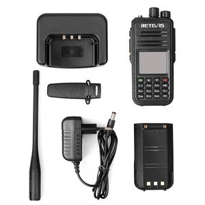 Image 5 - Retevis RT3S dmrラジオデジタルトランシーバーgps dmrアマチュア無線amador 5ワットdmr vhf uhfデュアルバンド互換性とmototrbo/tyt dmr