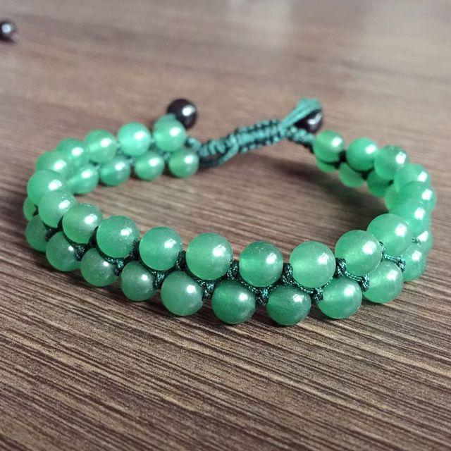 Bracelet Avec Aventurine