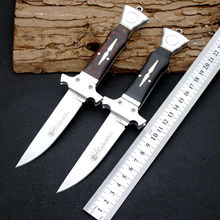 GELUN Folding Knife 7CR17MOV Steel Blade Wood Handle Survival Knifes Pocket Hunting Tactical Knives Camping Outdoor EDC Tools 51